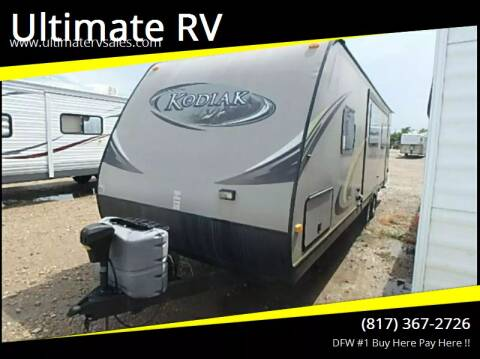 2014 Dutchmen Kodiak for sale at Ultimate RV in White Settlement TX