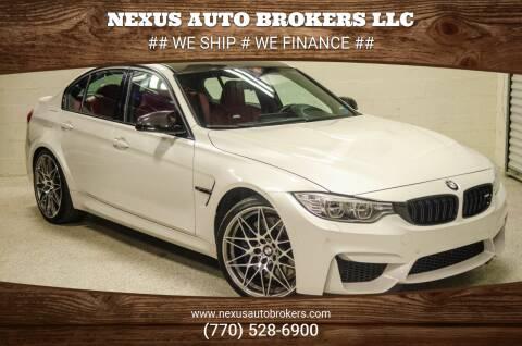 2017 BMW M3 for sale at Nexus Auto Brokers LLC in Marietta GA