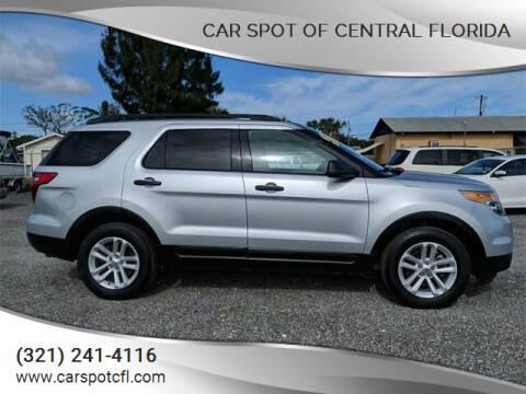 2015 Ford Explorer for sale at Car Spot Of Central Florida in Melbourne FL