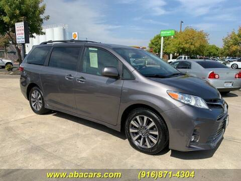 2018 Toyota Sienna for sale at About New Auto Sales in Lincoln CA
