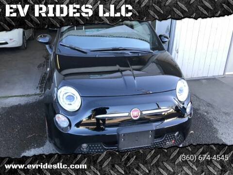 2017 FIAT 500e for sale at EV RIDES LLC in Portland OR