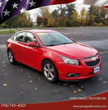 2014 Chevrolet Cruze for sale at JERRY GRADL MOTORS INC in North Tonawanda NY