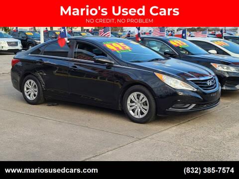 2012 Hyundai Sonata for sale at Mario's Used Cars in Houston TX
