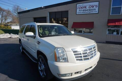 2007 Cadillac Escalade ESV for sale at I-Deal Cars LLC in York PA