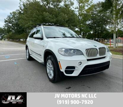 2012 BMW X5 for sale at JV Motors NC LLC in Raleigh NC