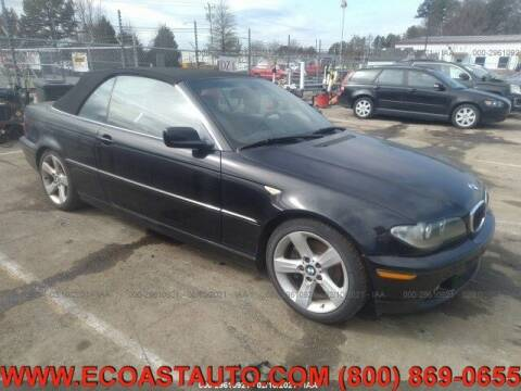 2004 BMW 3 Series for sale at East Coast Auto Source Inc. in Bedford VA