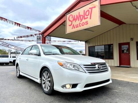 2012 Toyota Avalon for sale at Sandlot Autos in Tyler TX