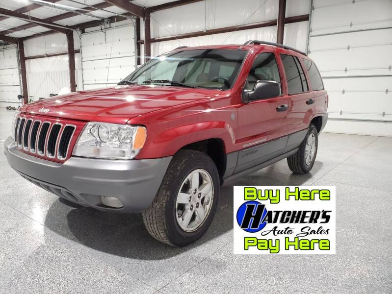 2004 Jeep Grand Cherokee for sale at Hatcher's Auto Sales, LLC - Buy Here Pay Here in Campbellsville KY