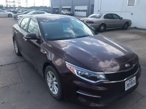 2017 Kia Optima for sale at FREDY KIA USED CARS in Houston TX