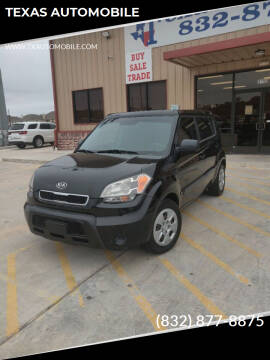 2011 Kia Soul for sale at TEXAS AUTOMOBILE in Houston TX