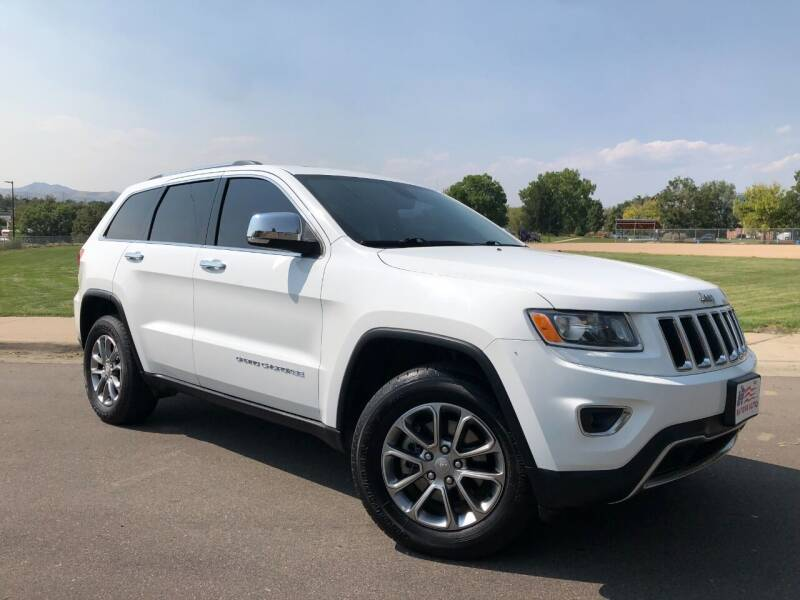 2015 Jeep Grand Cherokee for sale at Nations Auto in Lakewood CO