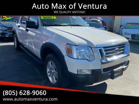 2008 Ford Explorer Sport Trac for sale at Auto Max of Ventura in Ventura CA