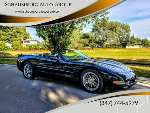 2001 Chevrolet Corvette for sale at Schaumburg Auto Group in Schaumburg IL