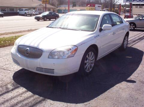 2009 Buick Lucerne for sale at LAKESIDE MOTORS LLC in Houghton Lake MI