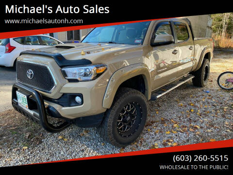 2017 Toyota Tacoma for sale at Michael's Auto Sales in Derry NH