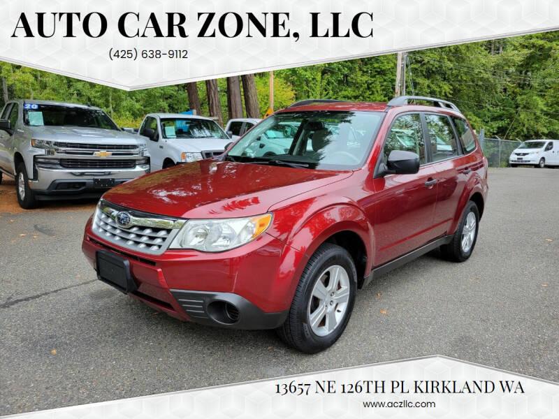 2012 Subaru Forester for sale at Auto Car Zone, LLC in Kirkland WA