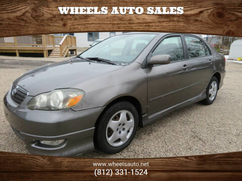 2006 Toyota Corolla for sale at Wheels Auto Sales in Bloomington IN