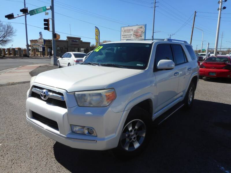 2012 Toyota 4Runner for sale at AUGE'S SALES AND SERVICE in Belen NM