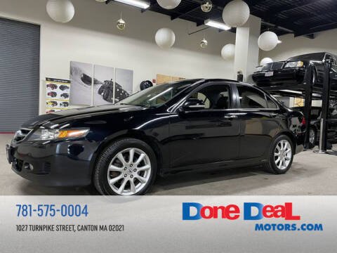 2007 Acura TSX for sale at DONE DEAL MOTORS in Canton MA