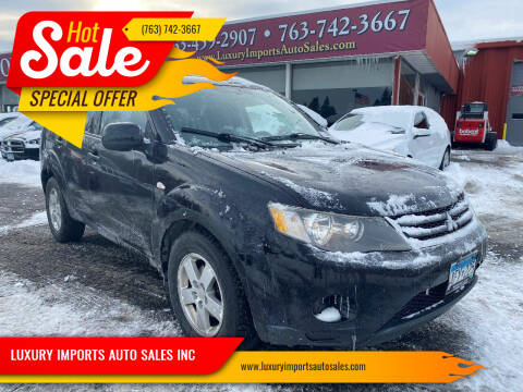 2007 Mitsubishi Outlander for sale at LUXURY IMPORTS AUTO SALES INC in North Branch MN