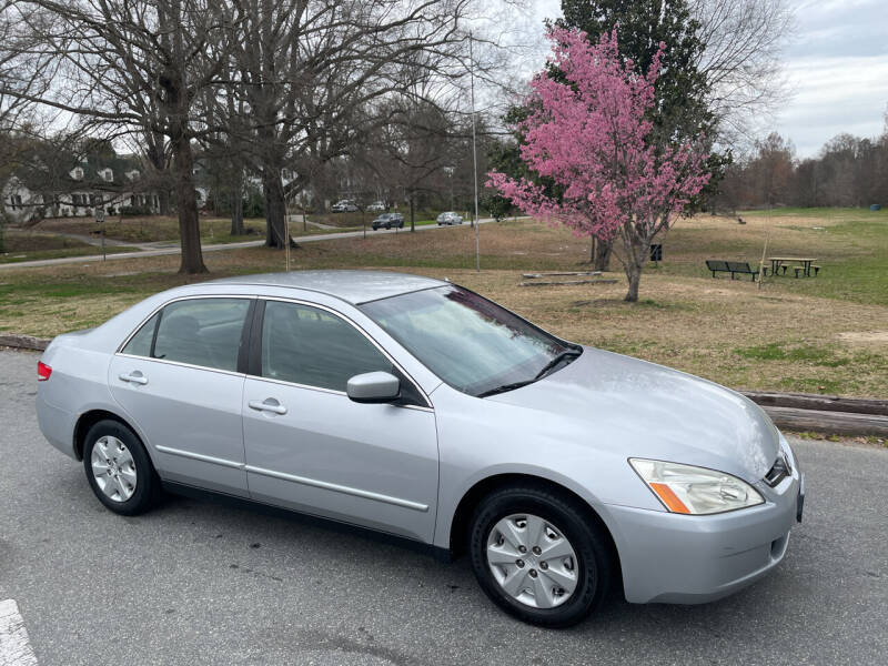 2003 Honda Accord for sale at Bull City Auto Sales and Finance in Durham NC