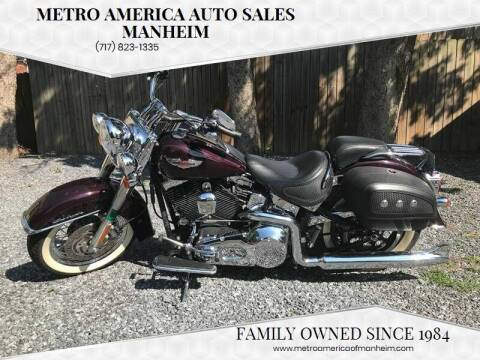 2005 Harley-Davidson Softail Deluxe for sale at METRO AMERICA AUTO SALES of Manheim in Manheim PA