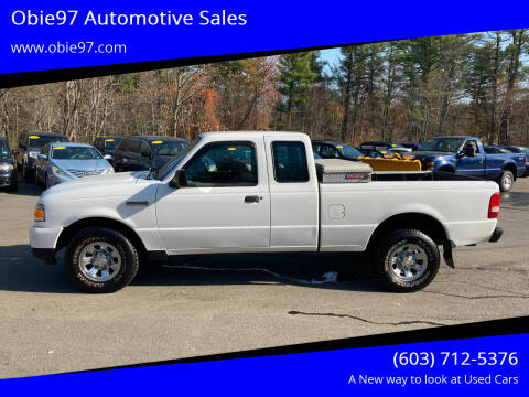 2009 Ford Ranger for sale at Obie97 Automotive Sales in Londonderry NH