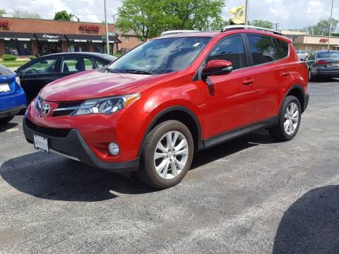 2015 Toyota RAV4 for sale at AUTOSAVIN in Elmhurst IL