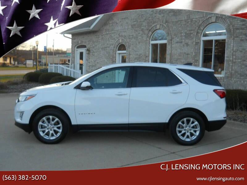2018 Chevrolet Equinox for sale at C.J. Lensing Motors Inc in Decorah IA