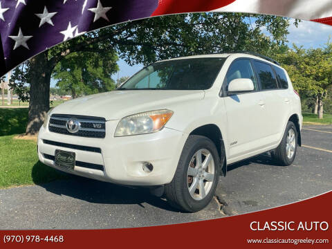 2008 Toyota RAV4 for sale at Classic Auto in Greeley CO