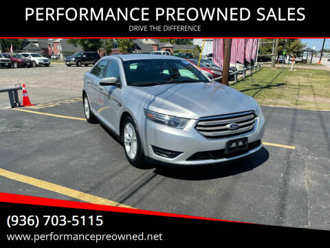 2015 Ford Taurus for sale at PERFORMANCE PREOWNED SALES in Conroe TX