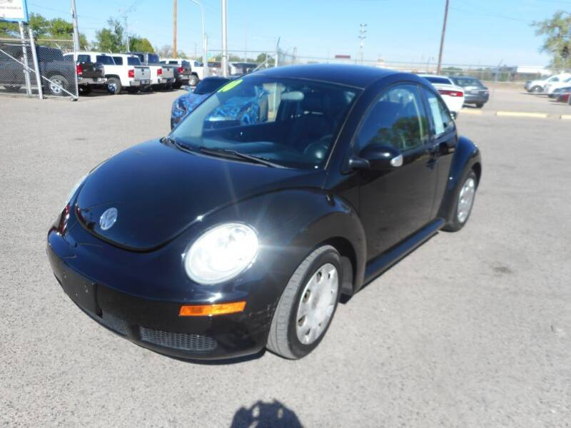 2010 Volkswagen New Beetle for sale at AUGE'S SALES AND SERVICE in Belen NM