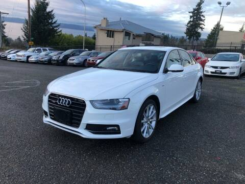 2015 Audi A4 for sale at KARMA AUTO SALES in Federal Way WA