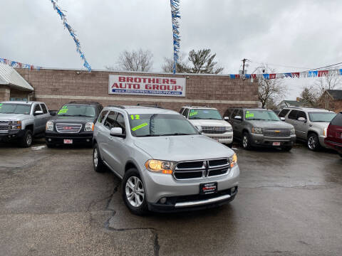 2012 Dodge Durango for sale at Brothers Auto Group in Youngstown OH