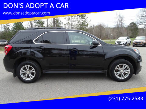 2017 Chevrolet Equinox for sale at DON'S ADOPT A CAR in Cadillac MI