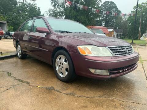 2004 Toyota Avalon for sale at C & P Autos, Inc. in Ruston LA