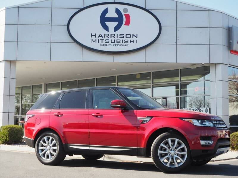 2017 Land Rover Range Rover Sport for sale at Harrison Imports in Sandy UT