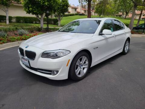 2013 BMW 5 Series for sale at E MOTORCARS in Fullerton CA