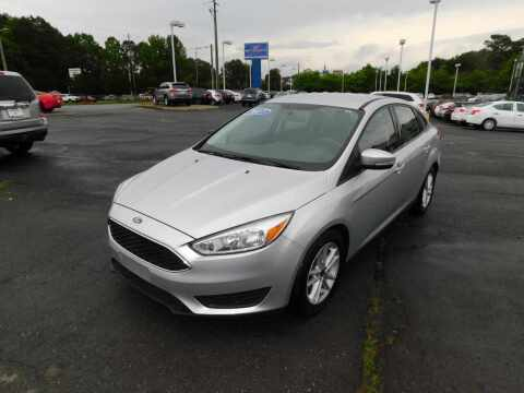 2017 Ford Focus for sale at Paniagua Auto Mall in Dalton GA