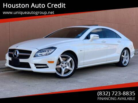 2012 Mercedes-Benz CLS for sale at Houston Auto Credit in Houston TX