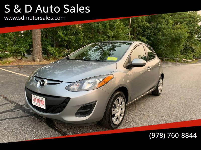 2012 Mazda MAZDA2 for sale at S & D Auto Sales in Maynard MA
