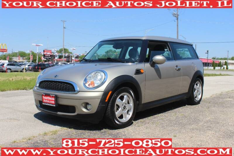 2010 MINI Cooper Clubman for sale at Your Choice Autos - Joliet in Joliet IL