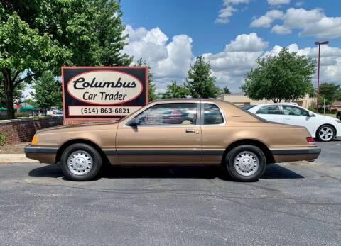 1985 Ford Thunderbird for sale at Columbus Car Trader in Reynoldsburg OH