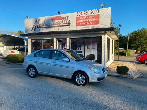2008 Hyundai Accent for sale at Mechanicsville Auto Sales in Mechanicsville VA