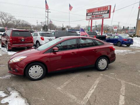 2013 Ford Focus for sale at Christy Motors in Crystal MN