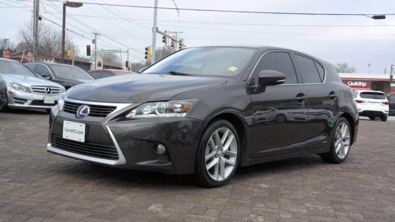 2014 Lexus CT 200h for sale at Cars-KC LLC in Overland Park KS