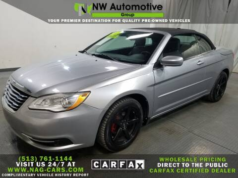 2013 Chrysler 200 Convertible for sale at NW Automotive Group in Cincinnati OH