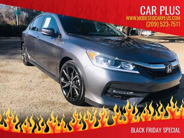 2017 Honda Accord for sale at CAR PLUS in Modesto CA