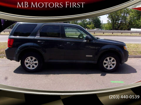 2008 Mazda Tribute for sale at MB Motors First in Meriden CT