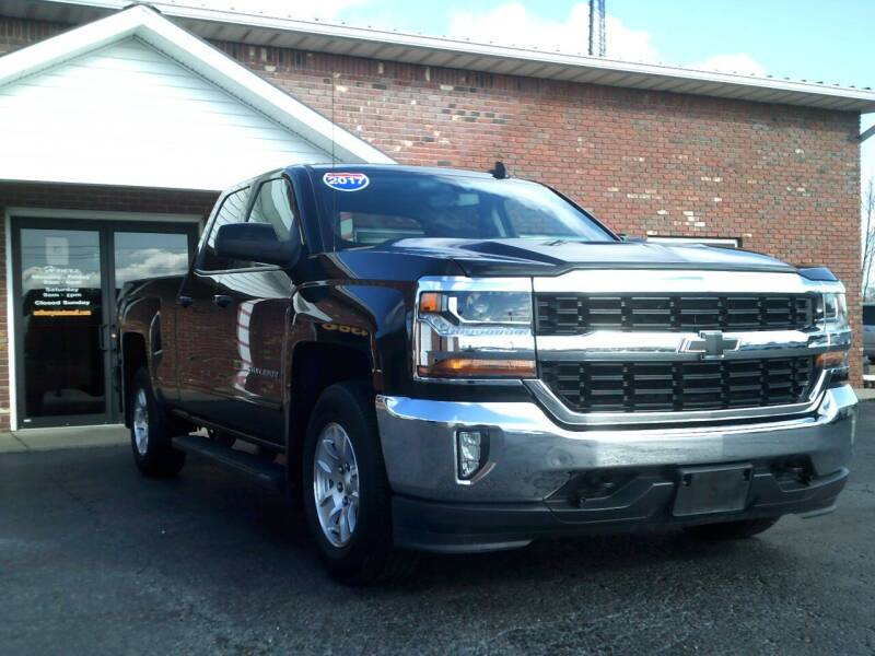 2017 Chevrolet Silverado 1500 for sale at Anthonys Auto Mall LLC in New Salisbury IN